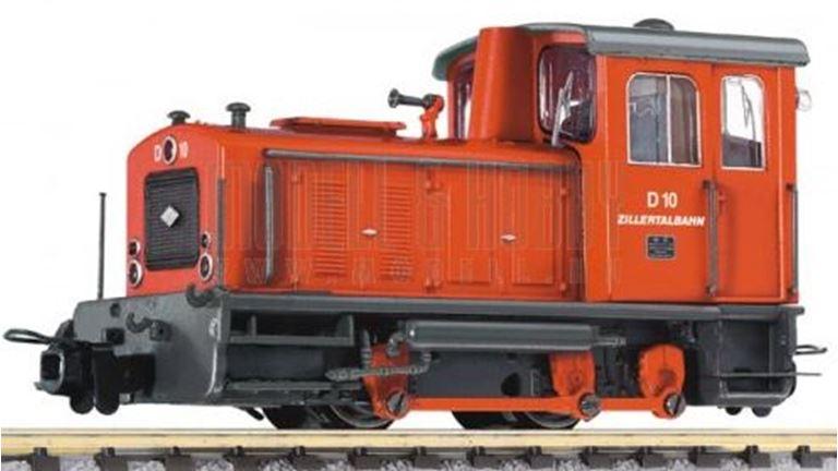 LILIPUT 142123 Тепловоз маневровый D10, H0e, III, Zillertalbahn