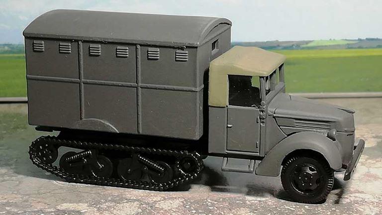 RUSAM-SDKFZ-3-41-910 Вездеход полугусеничный, 1:87, II, Wehrmacht