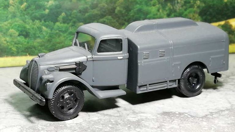 RUSAM-FORD-V8-65-900 Автомобиль бензовоз Ford V8, 1:87, II, Wehrmacht