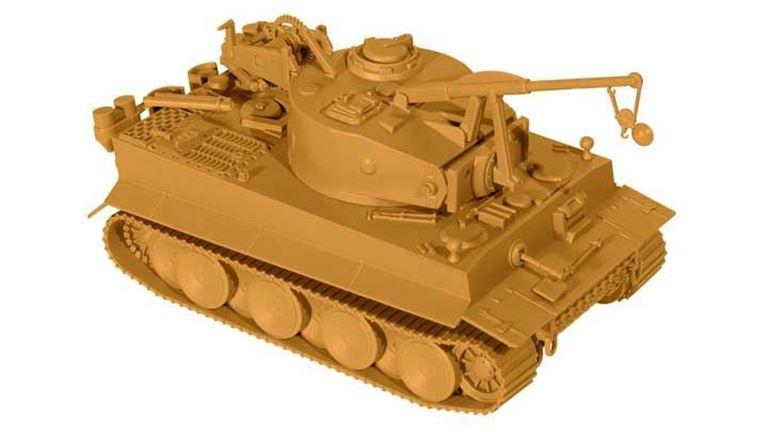 MINITANK 05112 БРЭМ «Bergetiger», 1:87, 1943—1945, Wehrmacht