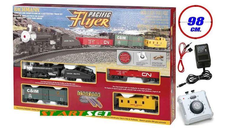 BACHMANN 00692 Аналоговый стартовый набор «Pacific Flyer», H0, E-Z Track® System
