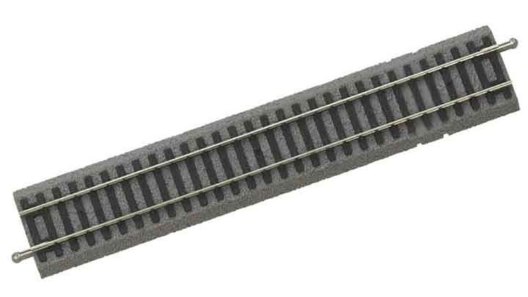PIKO 55406 Рельс прямой G231 ~231мм на призме с возможностью установки контактной клипсы, H0