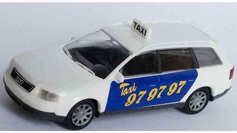 RIETZE 30673 Автомобиль Audi® A6 Avant «Taxi», 1:87, SE