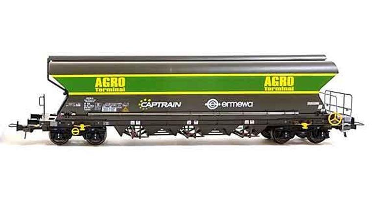 NME 512603 Хоппер зерновоз 101 м³ «AGRO» (#3784 0764 713-0), H0, VI, AGRO