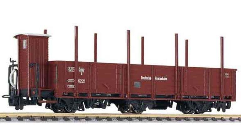 LILIPUT 245400 Полувагон 3-осный с кабиной управления, H0e, II, DB