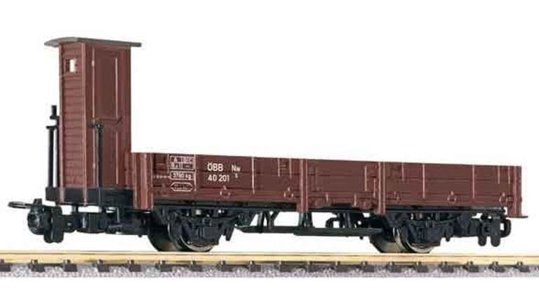 LILIPUT 294044 Платформа 2-осная с кабиной управления Nw/s 40 201, H0e, III, ÖBB