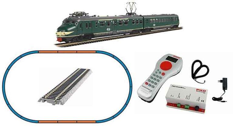 PIKO 59025 Цифровой стартовый набор «Пассажирский поезд Hondekop», H0, IV, NS