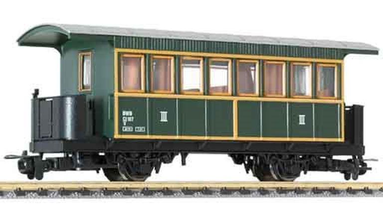 LILIPUT 344390 Пассажирский вагон 3 кл. (Ci/s 107), H0e, V, BWB