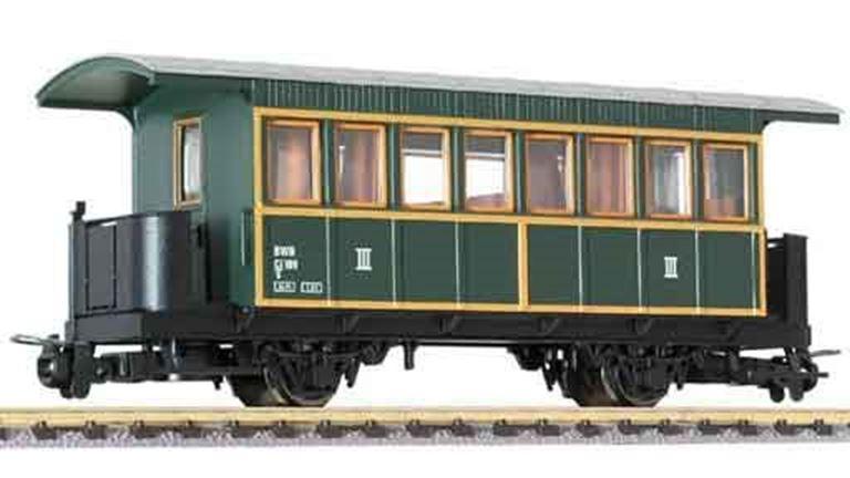 LILIPUT 344391 Пассажирский вагон 3 кл. (Ci/s 109), H0e, V, BWB