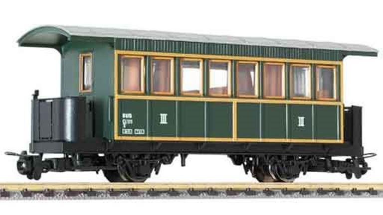 LILIPUT 344393 Пассажирский вагон 3 кл. (Ci/s 111), H0e, V, BWB