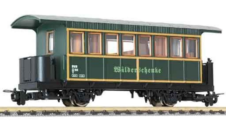 LILIPUT 344394 Пассажирский вагон «Wälderschenke» 3 кл. (Ci/s 108), H0e, V, BWB